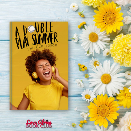 NEW BOOK ALERT: A Double Play Summer by LM Richardson #YA @l_m_richardson_