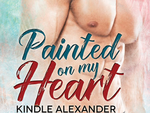 #Amreading Chapter One - Painted On My Heart @KindleAlexander #MMRomance