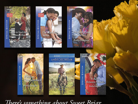 There's something about Sweet Briar | Sweet Briar Sweethearts series @kathydouglass7 #Romance
