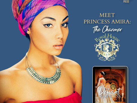 #InTheHotSeat Princess Amira from His Defiant Princess by @NanaPrah #Interracial #Romance