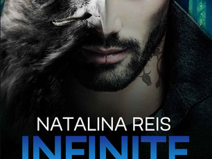 When a shifter and a human are bound by fate | Infinite Blue by Natalina Reis @TichaB #PNR #MMRomanc