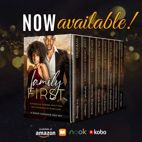 LAST CHANCE: Family First #Boxset #contemporaryromance