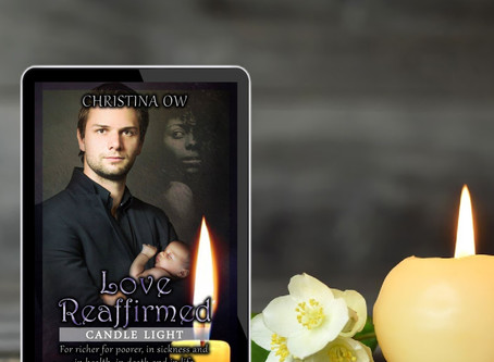 Trapped between reality and fantasy | Love Reaffirmed by Christina OW #womensfiction #interracial