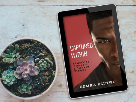 BOOK SPOTLIGHT: Captured Within by Kemka Ezinwo #Suspense #Mystery