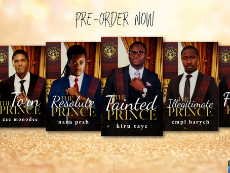 PREORDER ALERT: Royal House of Saene: The Princes #Romance #giveaway @loveafricapress