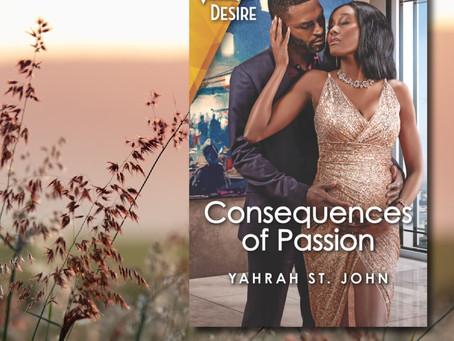 NEW BOOK ALERT: Consequences of Passion by Yahrah St John #contemporaryromance @yahrahstjohn