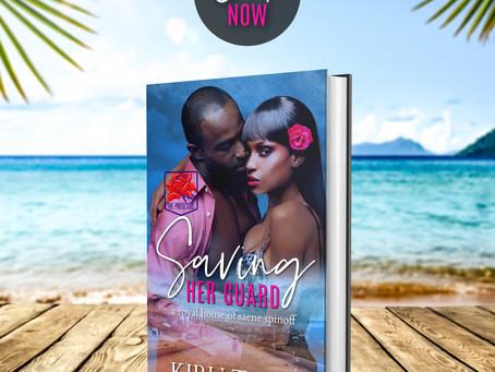 NEW BOOK ALERT: Saving Her Guard by Kiru Taye #romanticsuspense