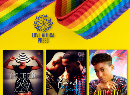 Introducing the Love Africa Press Pride collection @loveafricapress