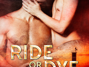 Their murder mystery role-playing becomes a real-life whodunnit. Ride or Dye #MMRomance @AimeeNWalke
