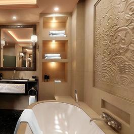 Salle de bain design - Chauffage Mosan