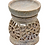 """Thumbnail: Artisan Handcarved Soapstone 3"""" with Intricate Elegant Tendril Openwork"""