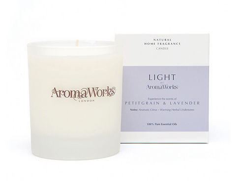 Light Range Petitgrain & Lavender Candle 30cl Medium