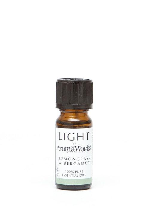 Lemongrass & Bergamot Essential Oil 10ml