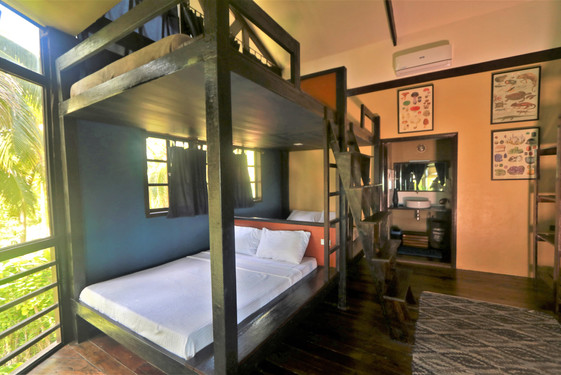 Bunk Room can sleep up to 8 guests