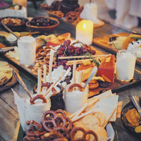 Grazing table display at Siargao Wedding Venue Punta Dolores Homestead