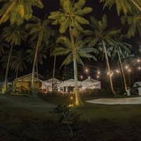 Punta Dolores Siargao wedding venue at night