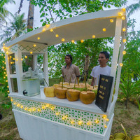 Everyone loves coconuts for their Siargao Island wedding