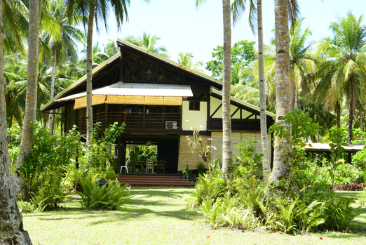 Tropical Beach Guesthouse in Siargao, Philippines