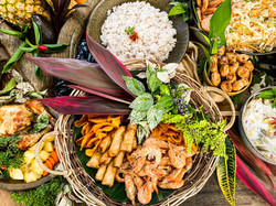 Filipino food catering is our Specialty-and we make it look festive and formal for your special even