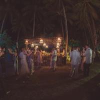 Punta Dolores venue cocktail bar at night