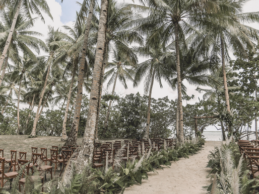 The Two Main Wedding Rentals You Should Consider for your Siargao Wedding: Venue Tables and Chairs