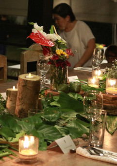 VIP guest tablescape at Siargao wedding venue Punta Dolores Homestead