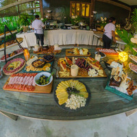 Grazing table at Punta Dolores Siargao Wedding Reception and Catering