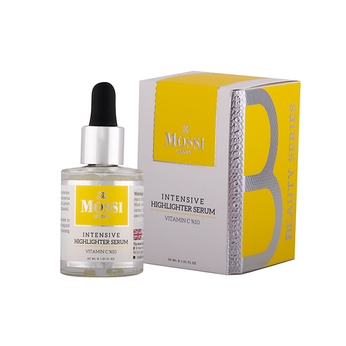 The Mossi London Intensive Highlighter Serum Vitamin C 10%