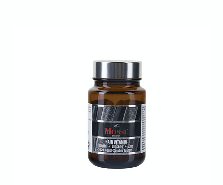 The Mossi London Hair Vitamin  120 Mouth Soluble Tablets