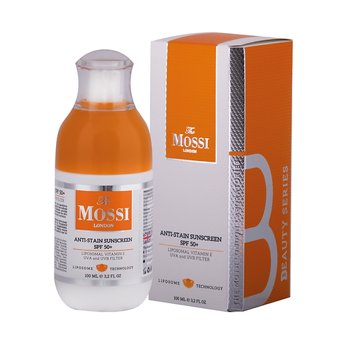 The Mossi London Anti-Stain Sunscreen SPF 50+