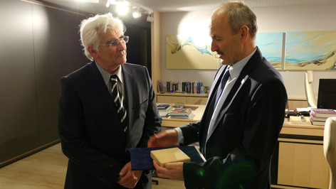 Ocenenie pre Ing. Miroslava Bucha