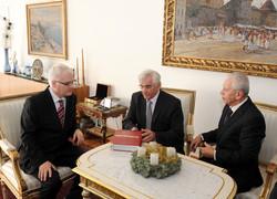 prof. Kassay a Ivo Josipovic