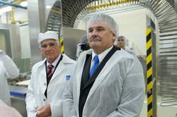 Minister práce v Pečivárňach Sereď