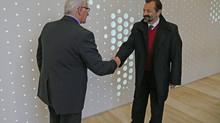 Štefan Kassay sJaroslavom Chlebom opokračovaní spolupráce I.D.C. Holding, a.s. sprogramom rozvojo