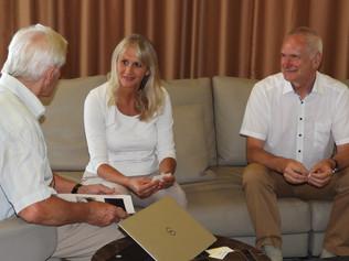 Stretnutie s Helmutom Luttmannom