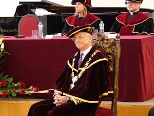 Slávnostná inaugurácia rektora a troch dekanov Trnavskej univerzity v Trnave