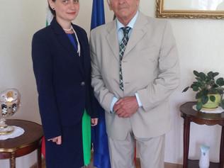 Ekonomická diplomacia prináša konkrétne výsledky, na čom sa zhodli J.E. Yordanka Chobanová a Štefan