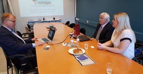 Profesor Štefan Kassay prezentoval produkčnú platformu v Yrittäjät – najväčšej obchodnej federácii v