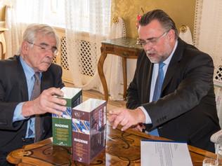 Vedúci kancelárie prezidenta SR v diskusii s profesorom Štefanom Kassayom