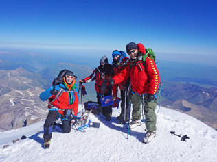 Horalky na Elbruse