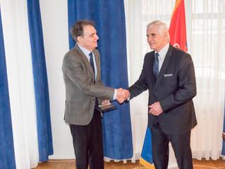 So srbským veľvyslancom ovýzname konferencie Nová Európa aoperspektívach slovensko-srbských hospo