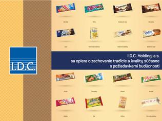 I.D.C. Holding, a.s. –  sa opiera o zachovanie tradície a kvality súčasne s požiadavkami budúcnosti