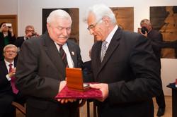 Štefan Kassay a Lech Wałęsa