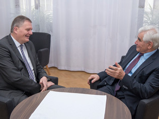 Stretnutie na pôde veľvyslanectva Poľskej republiky v Bratislave