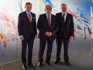 Resumé zo stretnutia profesora Štefana Kassaya na pracovnej návšteve Európskej investičnej banky aI