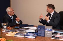 S ministrom Petrom Kažimírom
