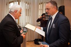 Štefan Kassay a Waldemar Pawlak