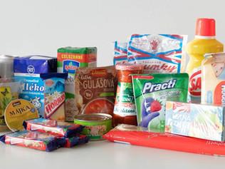 Horalky súčasťou núdzových balíčkov s drogériou a potravinami