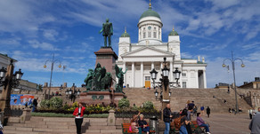 Putovanie po pamätihodnostiach Helsínk