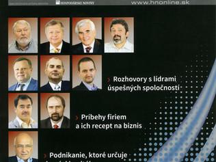 I.D.C. Holding, a.s. medzi TOP 10 slovenskými firmami (Hospodárske noviny)
